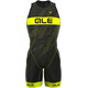 Alé Cycling Triathlon Olympic Record Tri Body Men Back Zipper black-fluo yellow